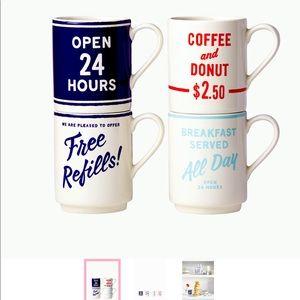 Kate Spade Orders Up Mugs